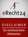 eRecht 24 Disclaimer